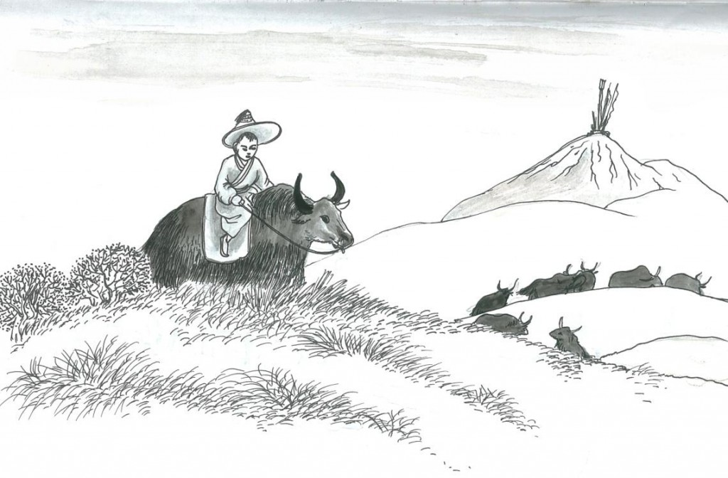 The Simple Life of a Yak Herder